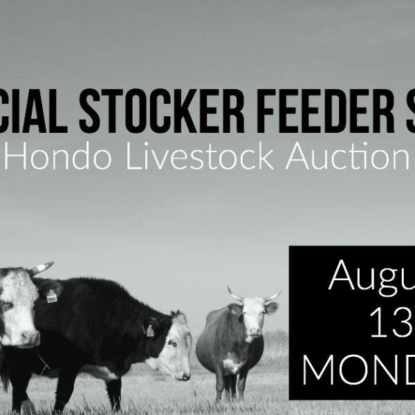 special stocker feeder sale 8-13-18
