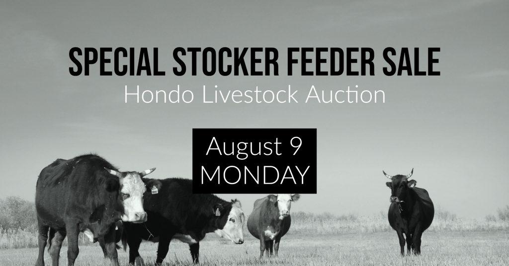 Hondo Livestock Auction, Special Livestock Sale